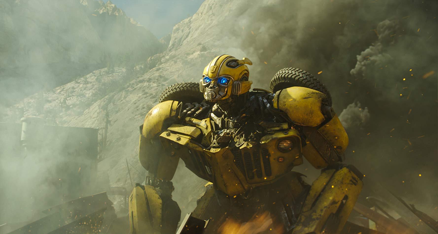 Bumblebee: una scena d'azione del film
