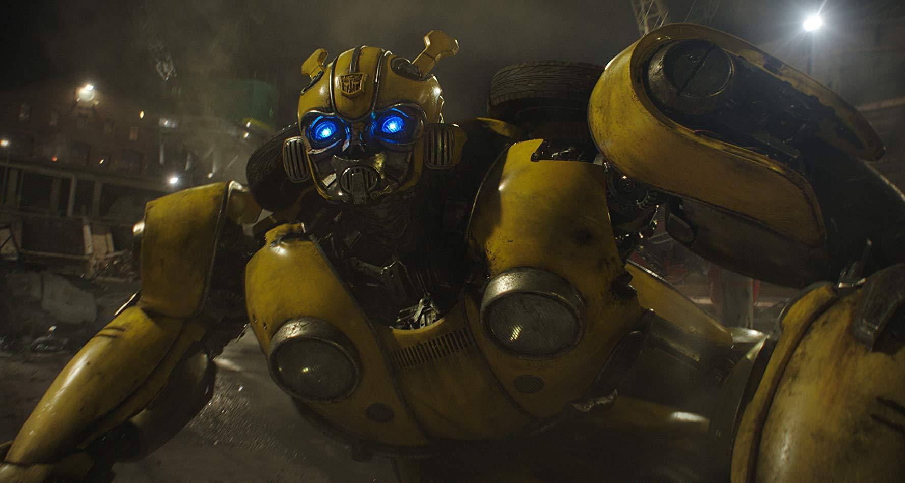Bumblebee: una sequenza del film