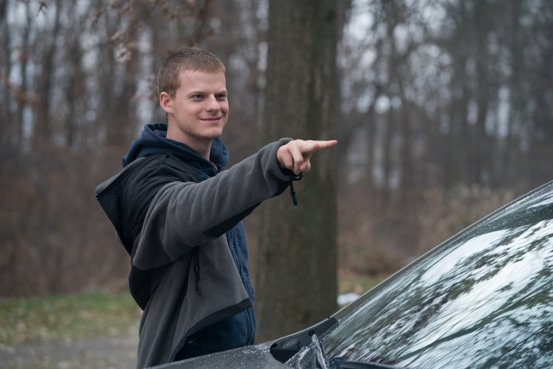 Ben Is Back: Lucas Hedges in un momento del film