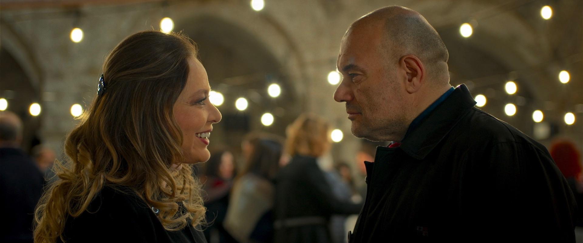 Wine to Love: Ornella Muti con Domenico Fortunato in una scena