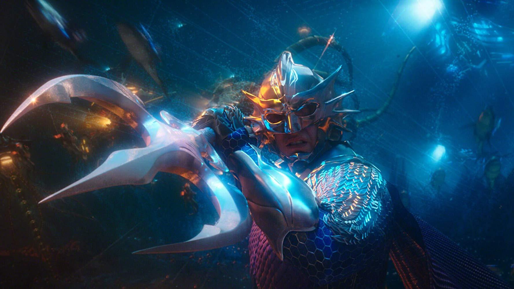 Aquaman: una scena di combattimento