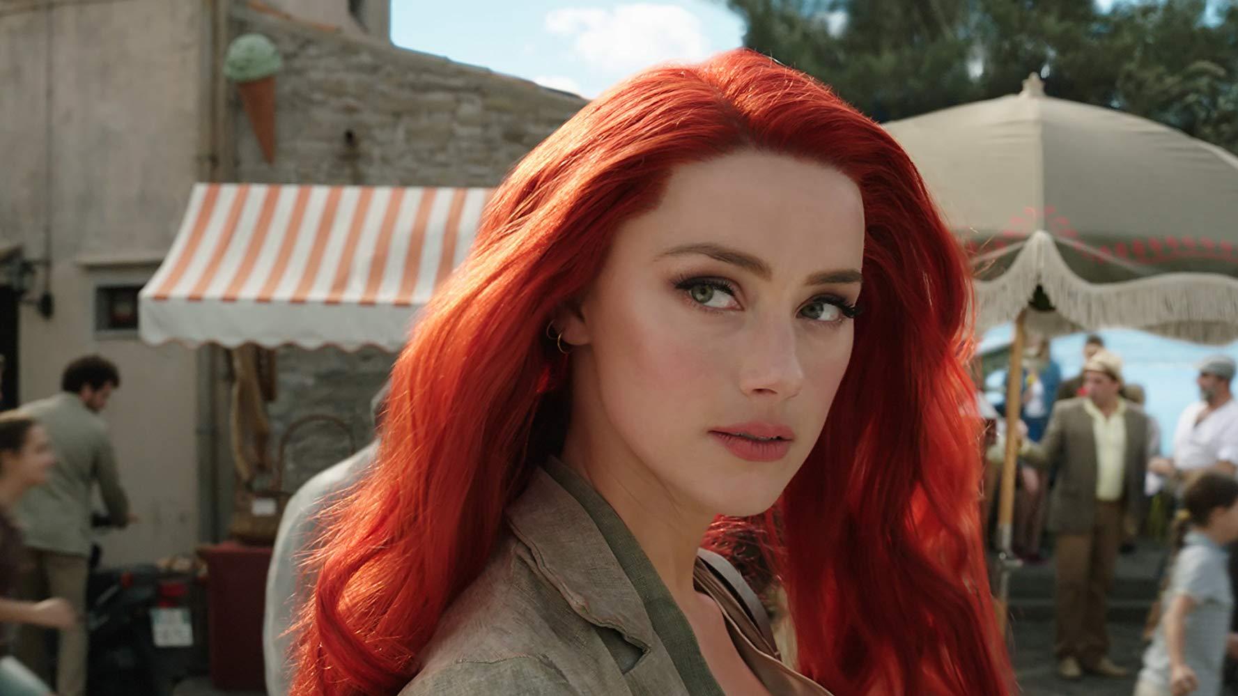 Aquaman: un primo piano di Amber Heard