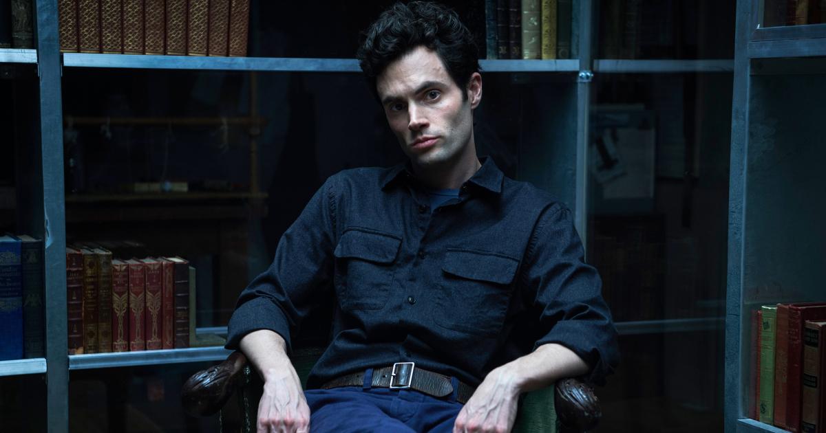 YOU: una foto del protagonista Penn Badgley