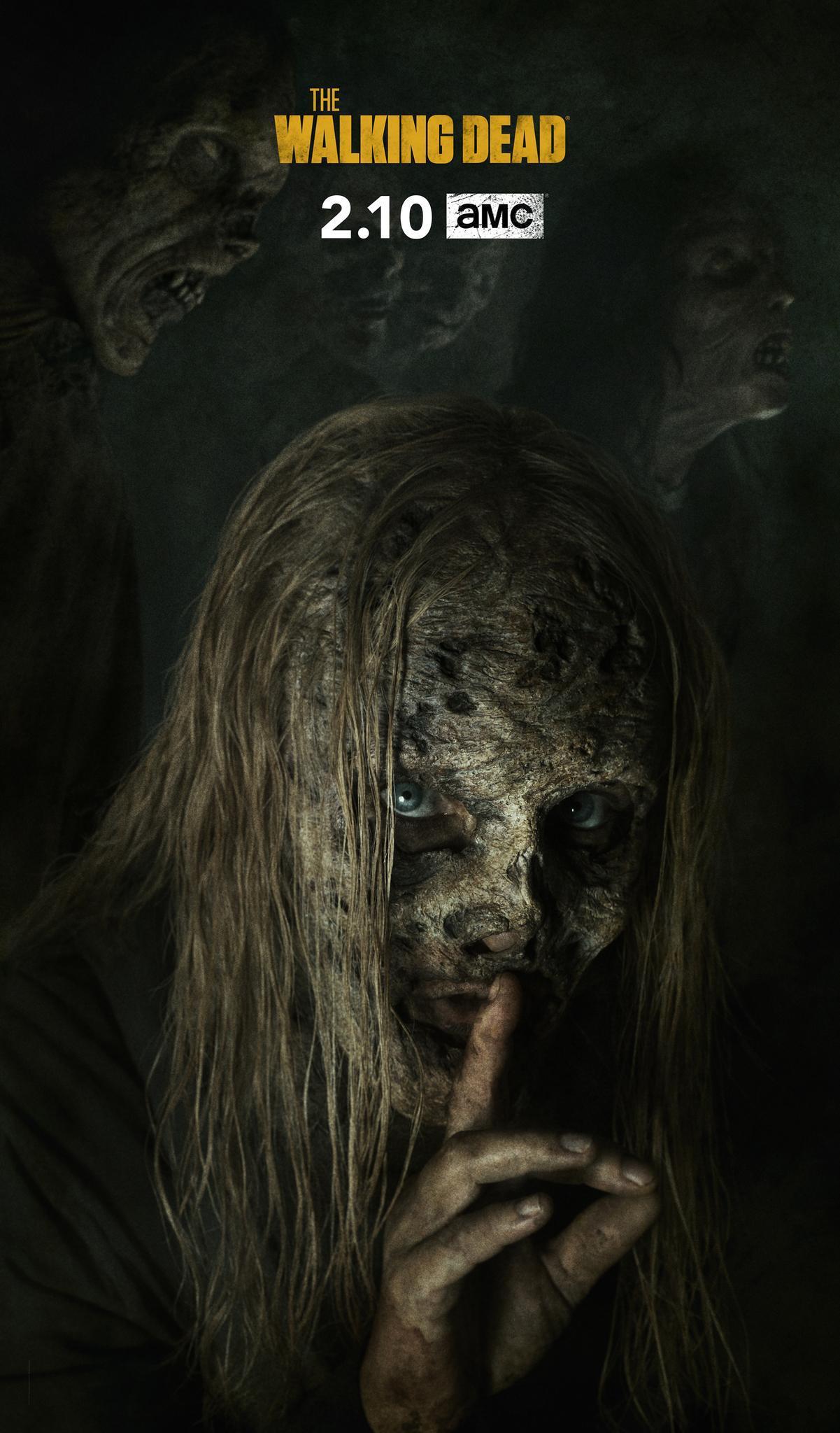 The Walking Dead 9: una foto promozionale