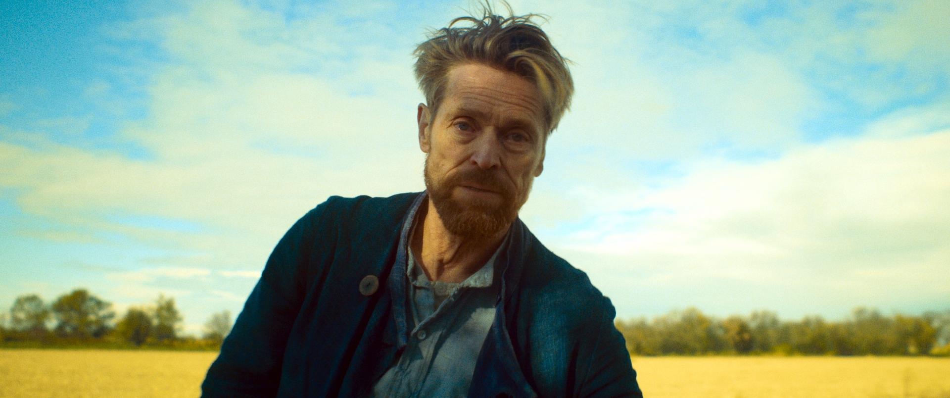 Van Gogh - Sulla soglia dell'eternità: Willem Dafoe in una scena