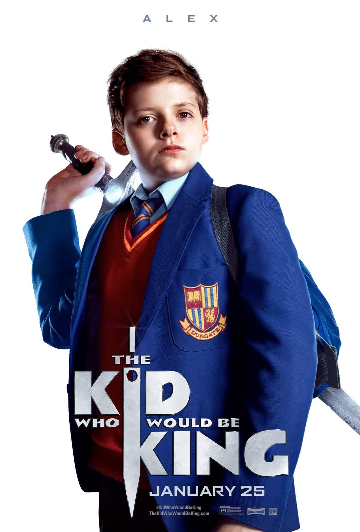 Il ragazzo che diventerà re: il character poster di Alex