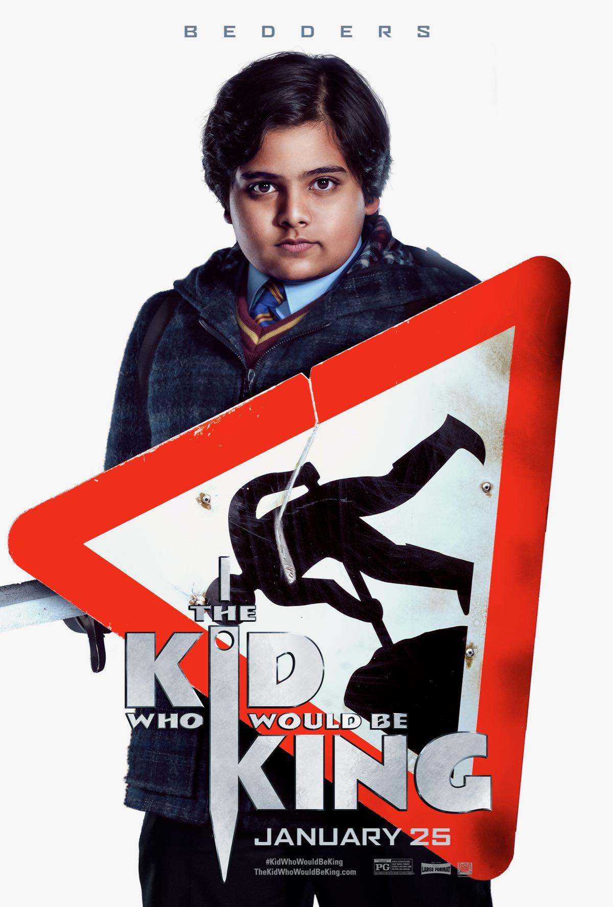 Il ragazzo che diventerà re: il character poster di Bedders