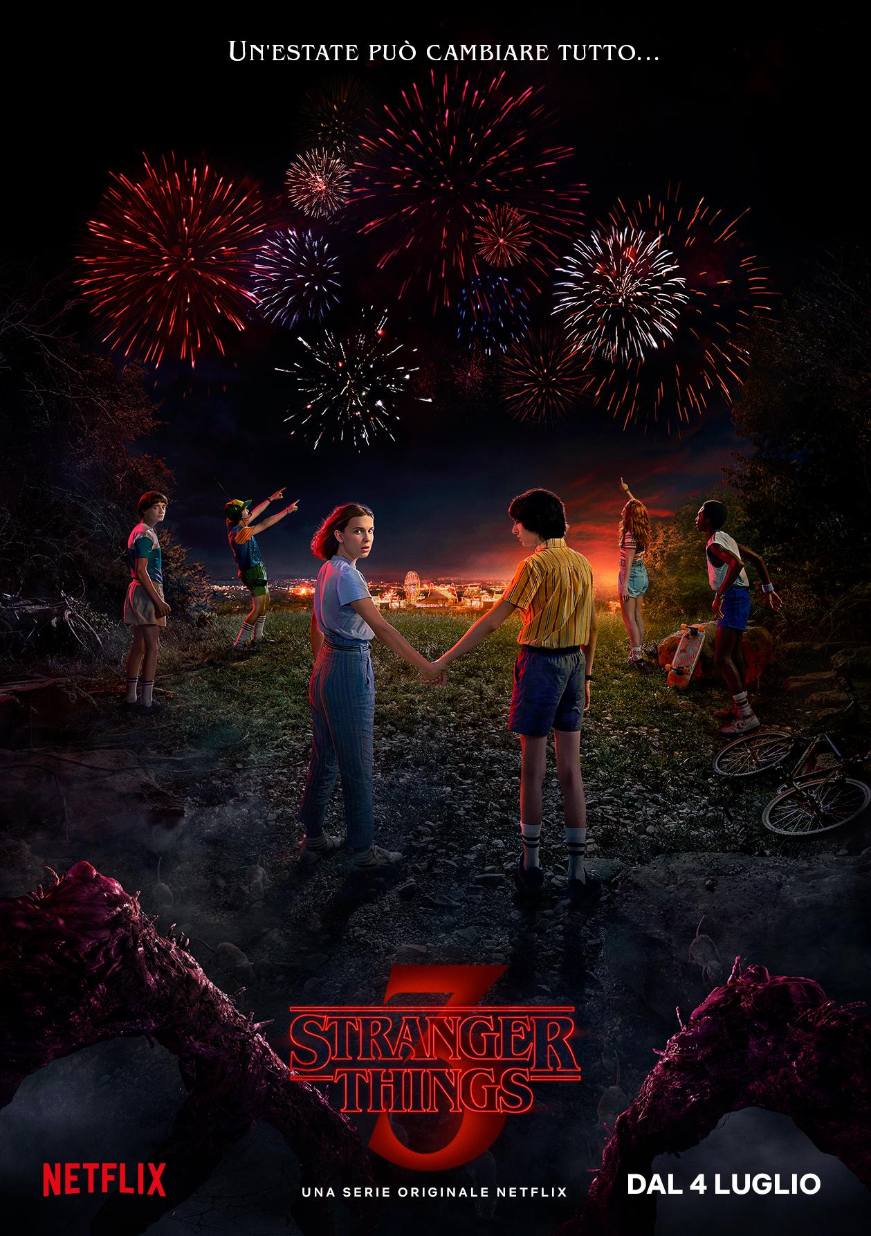 Stranger Things 3: il poster della nuova stagione