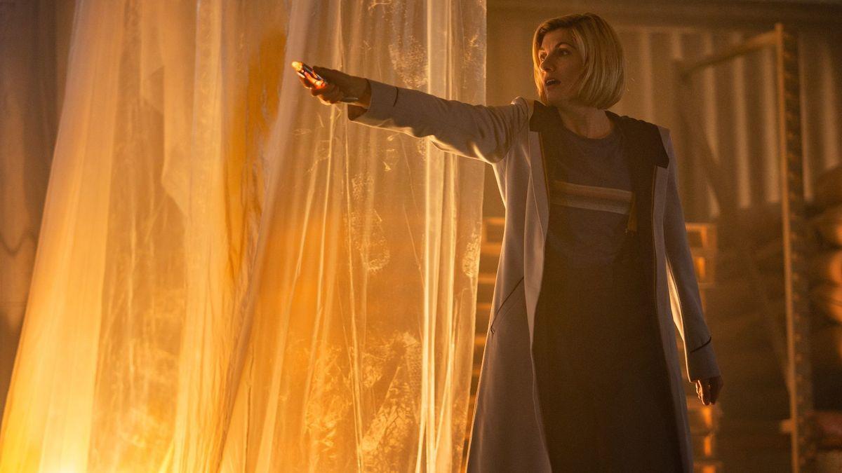 Doctor Who: Jodie Wihittaker in una scena dell'episodio Resolution