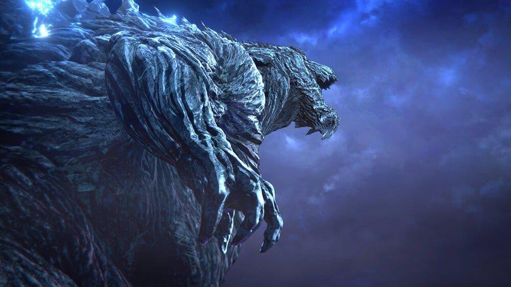 Godzilla Mangiapianeti: Godzilla in una scena del film
