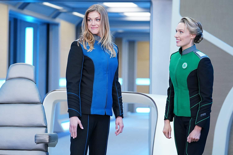 The Orville:Adrianne Palicki, Michaela McManus in una scena della seconda stagione