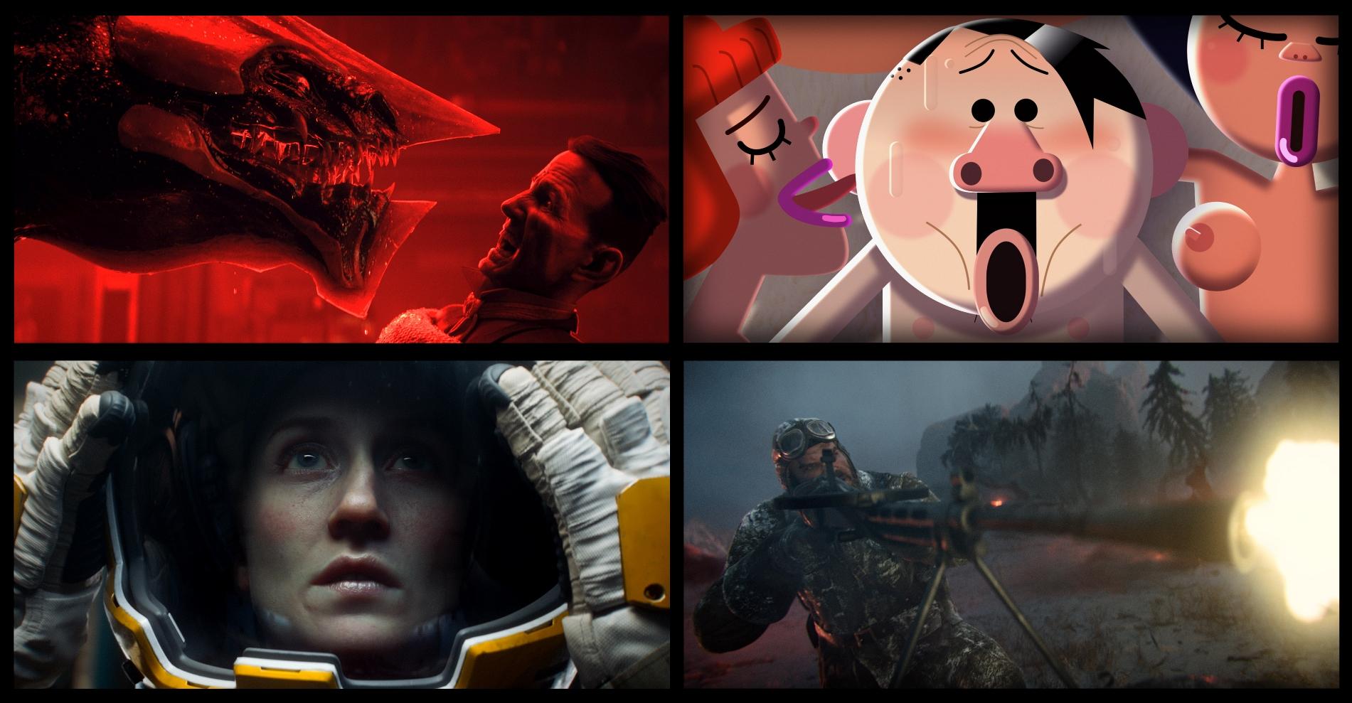 Love, Death & Robots: un'immagine promozionale della serie antologica animata