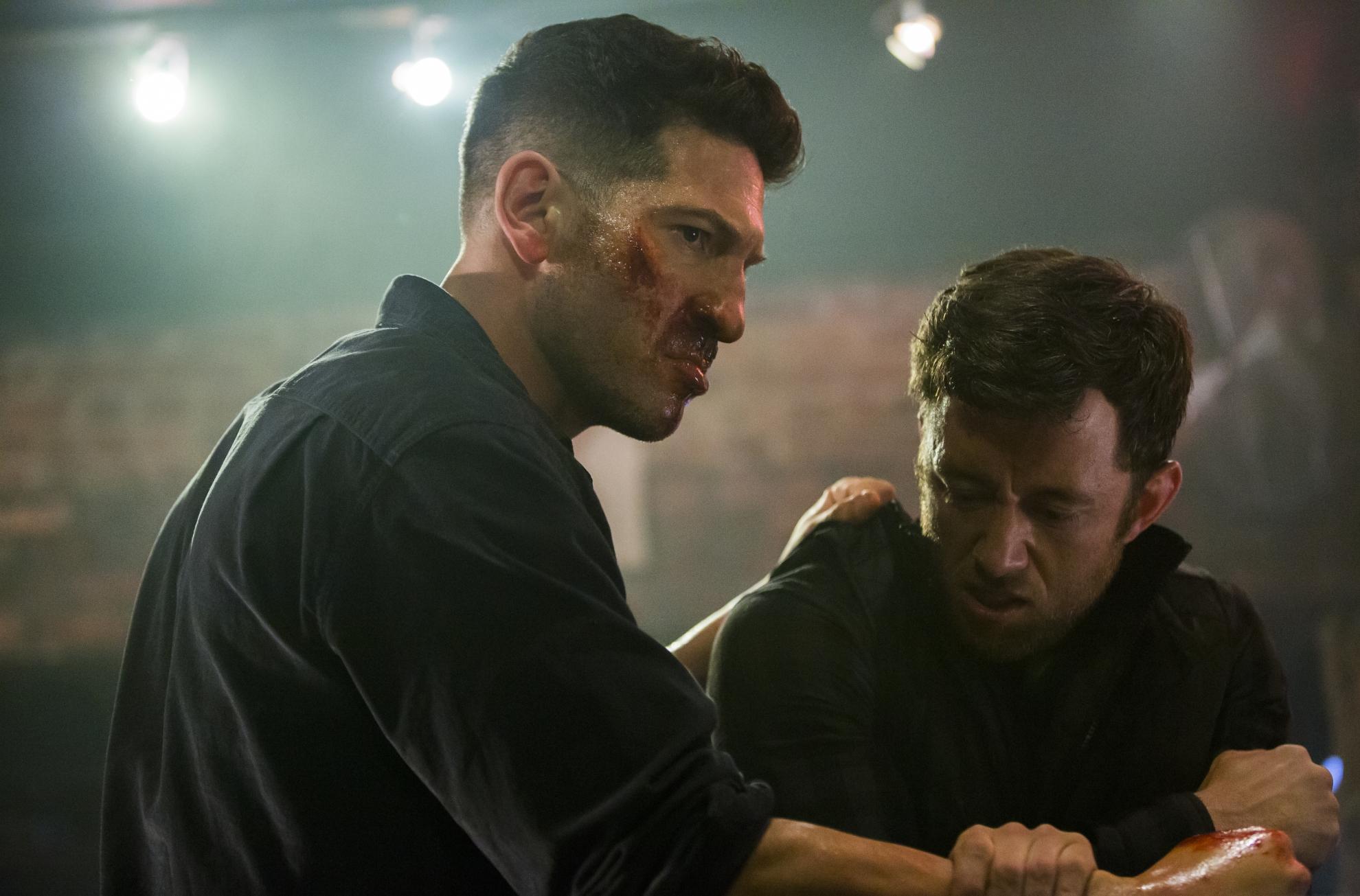 The Punisher: Jon Bernthal nella premiere della seconda stagione