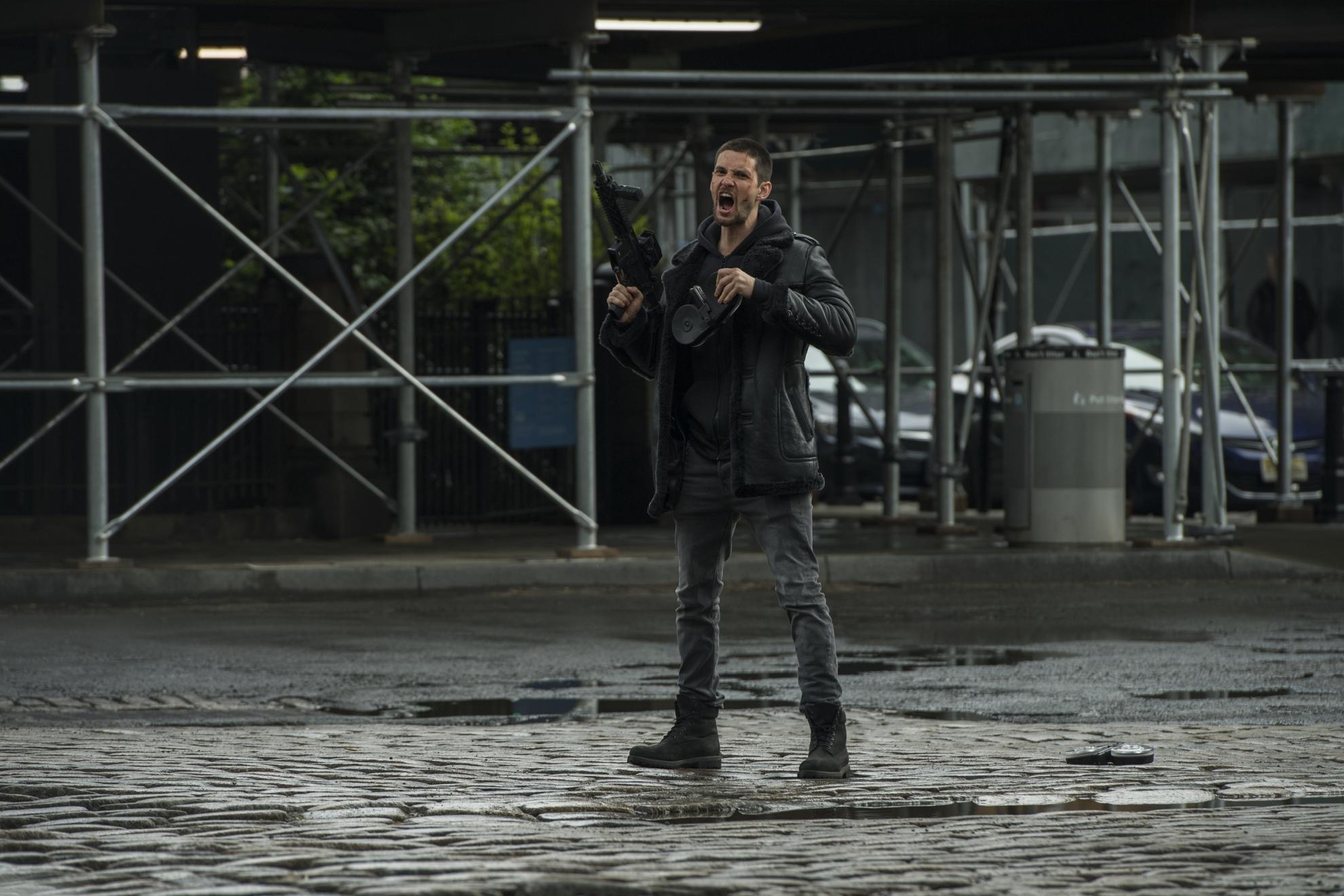 The Punisher: una scena con Ben Barnes, seconda stagione