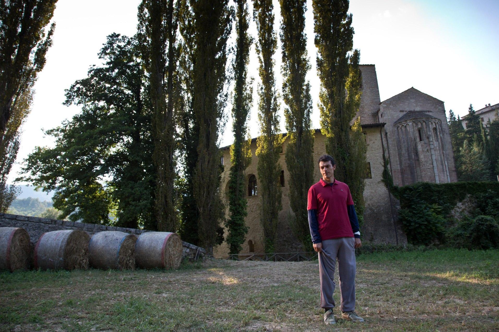 Copperman: Luca Argentero in una scena del film