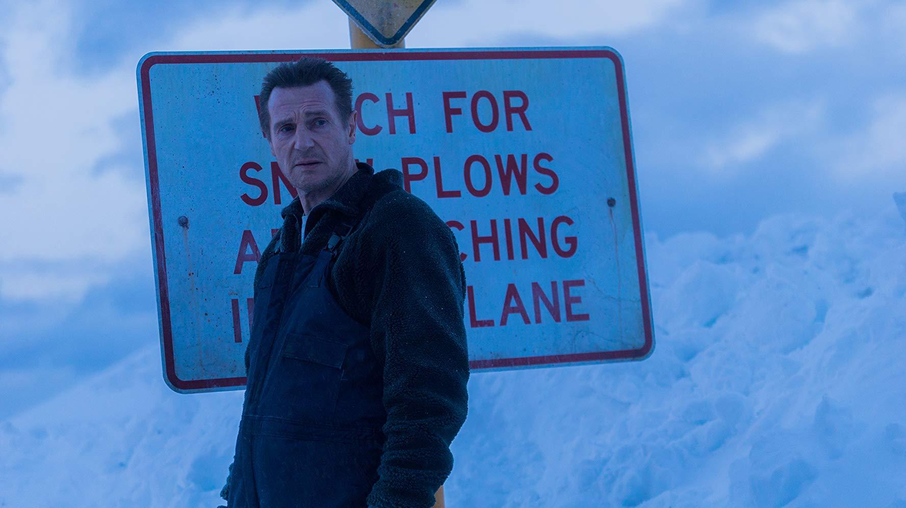 Un uomo tranquillo:  una scena con Liam Neeson