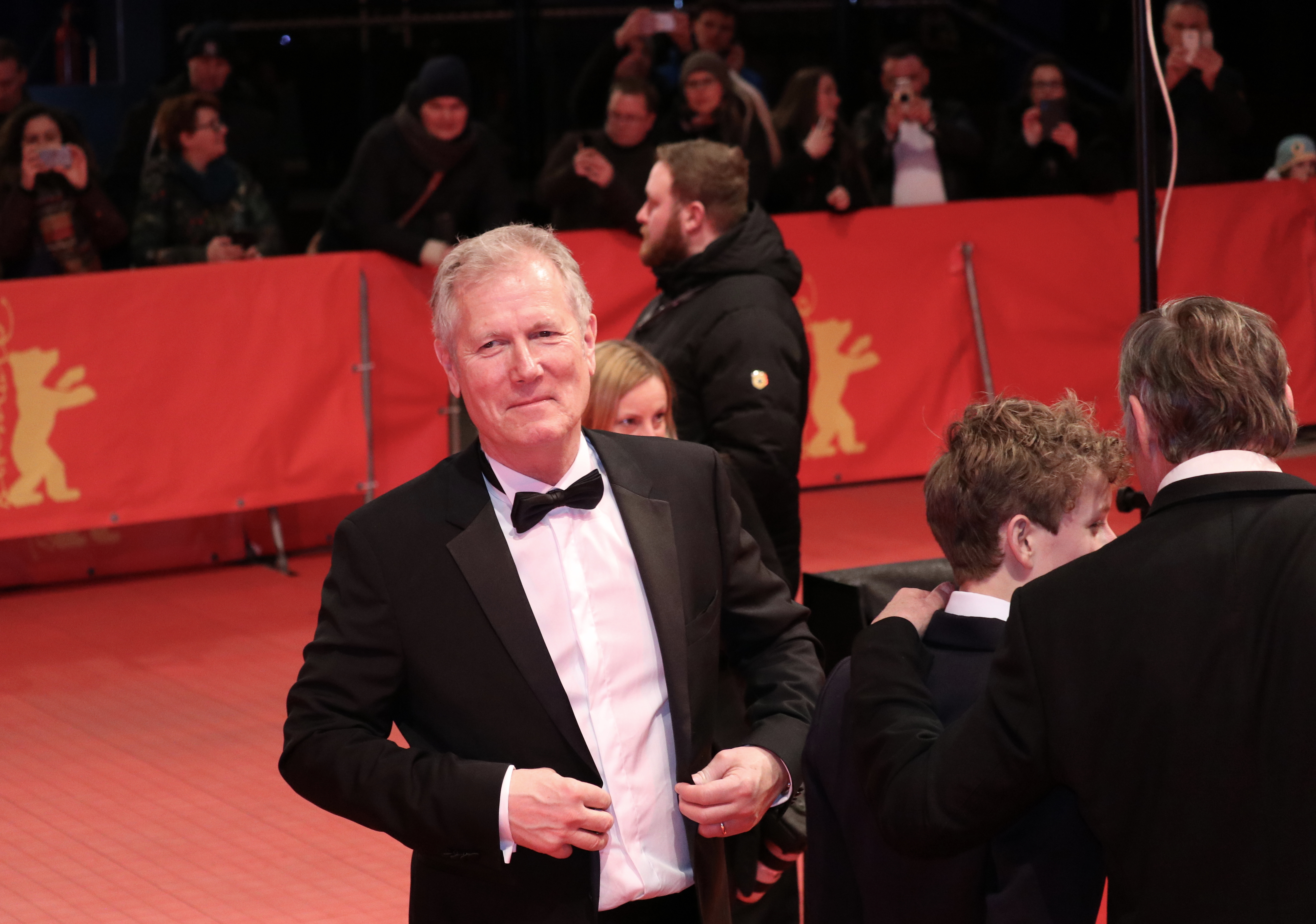 Berlino 2019: Hans Petter Moland sul red carpet di Out Stealing Horses