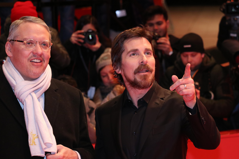 Berlino 2019: Adam McKay, Christian Bale sul red carpet di Vice - L'uomo nell'ombra