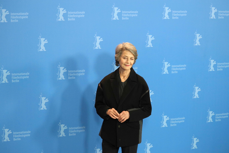 Berlino 2019: una foto di Charlotte Rampling al photocall