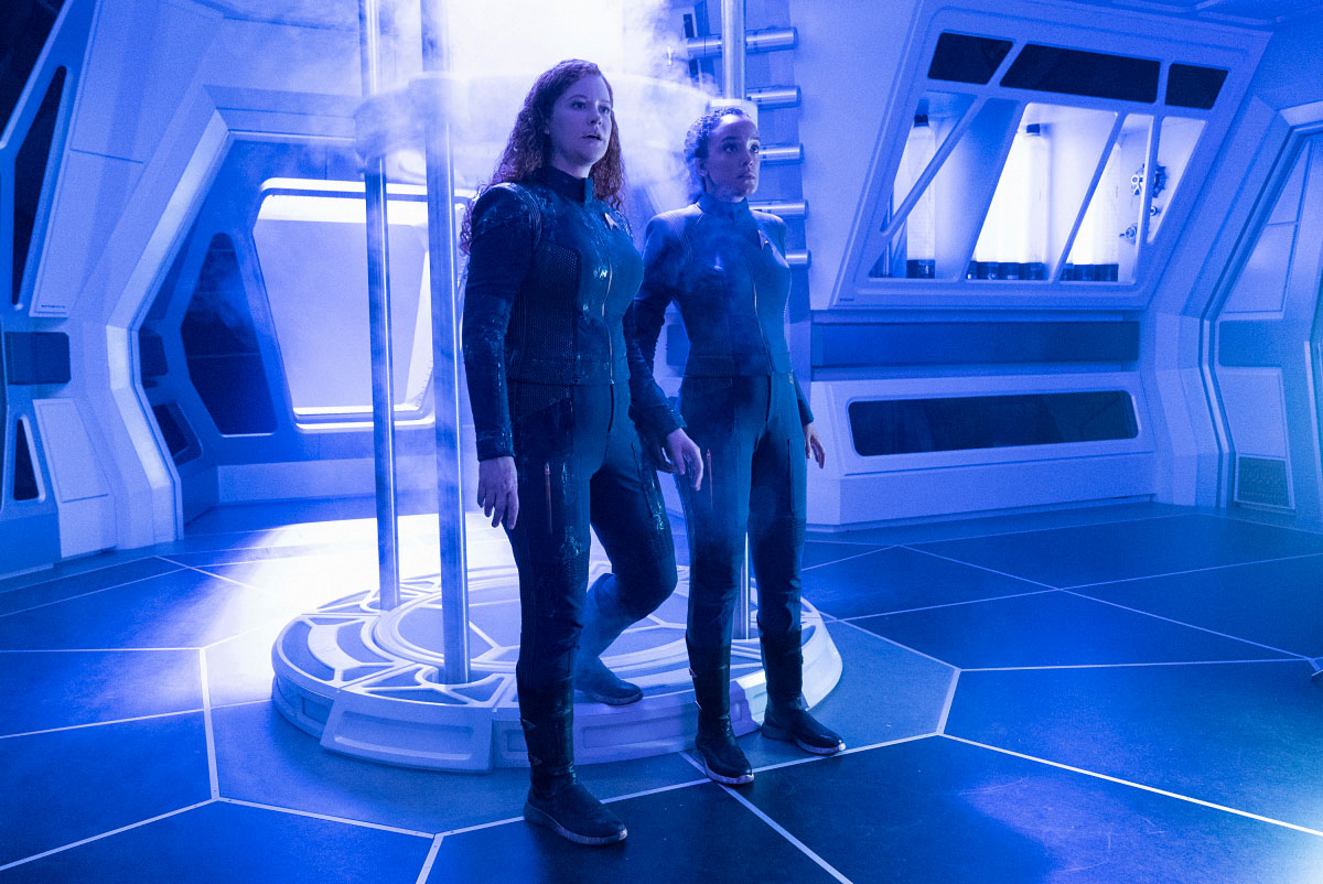 Stark Trek Discovery: Bahia Watson, Mary Wiseman nell'episodio Saints of Imperfection