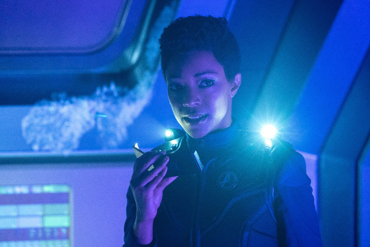 Stark Trek Discovery: Sonequa Martin-Green nell'episodio Saints of Imperfection
