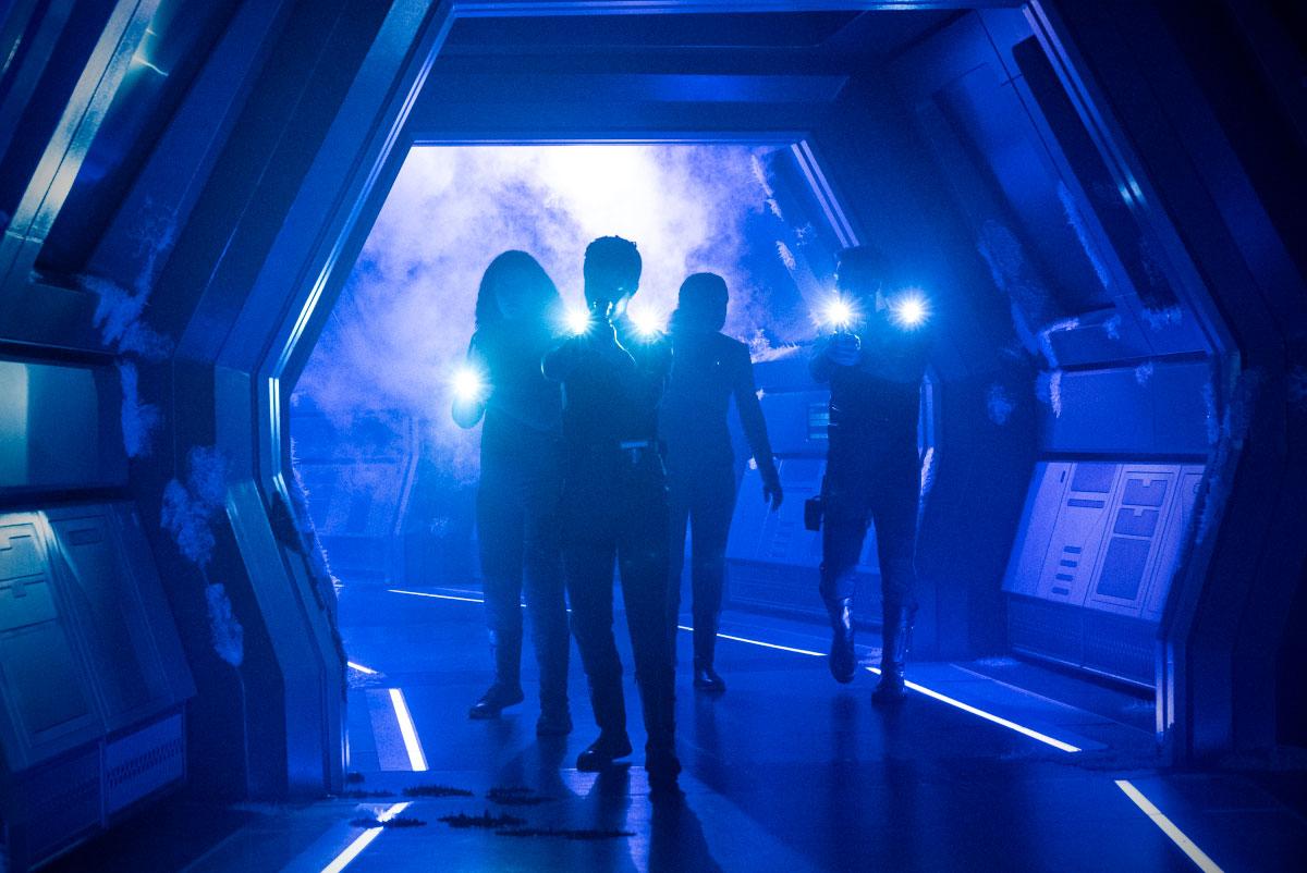 Stark Trek Discovery: una scena dell'episodio Saints of Imperfection