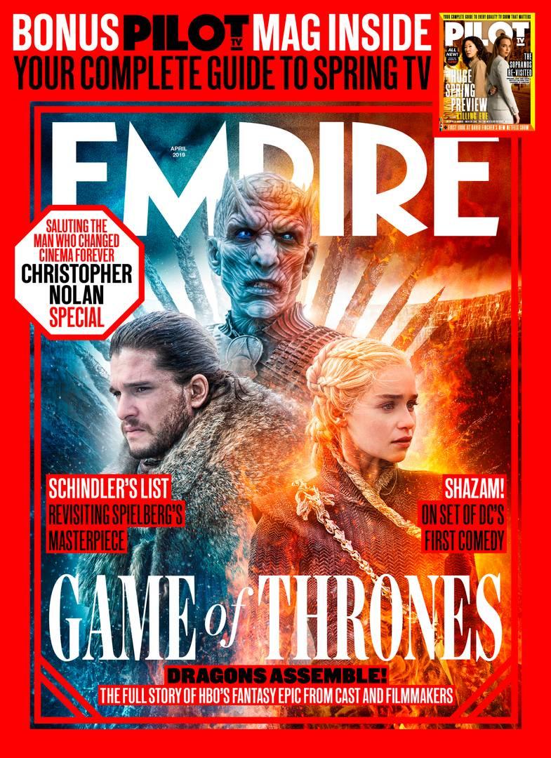 Il Trono di Spade 8: la copertina di Empire