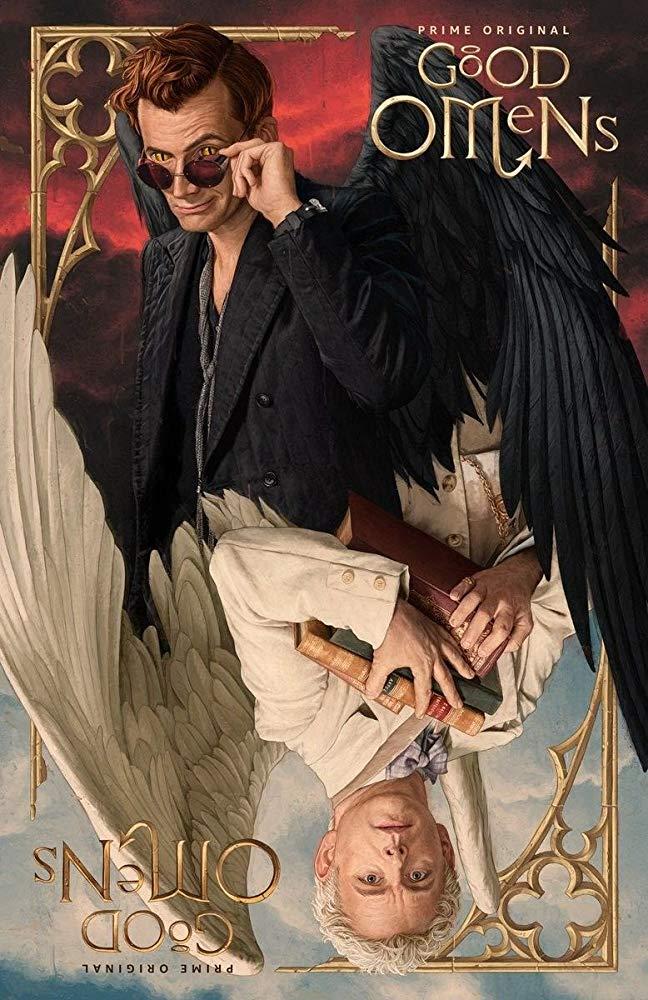 Good Omens: un poster con il diabolico Crowley e l'angelico Aziraphale