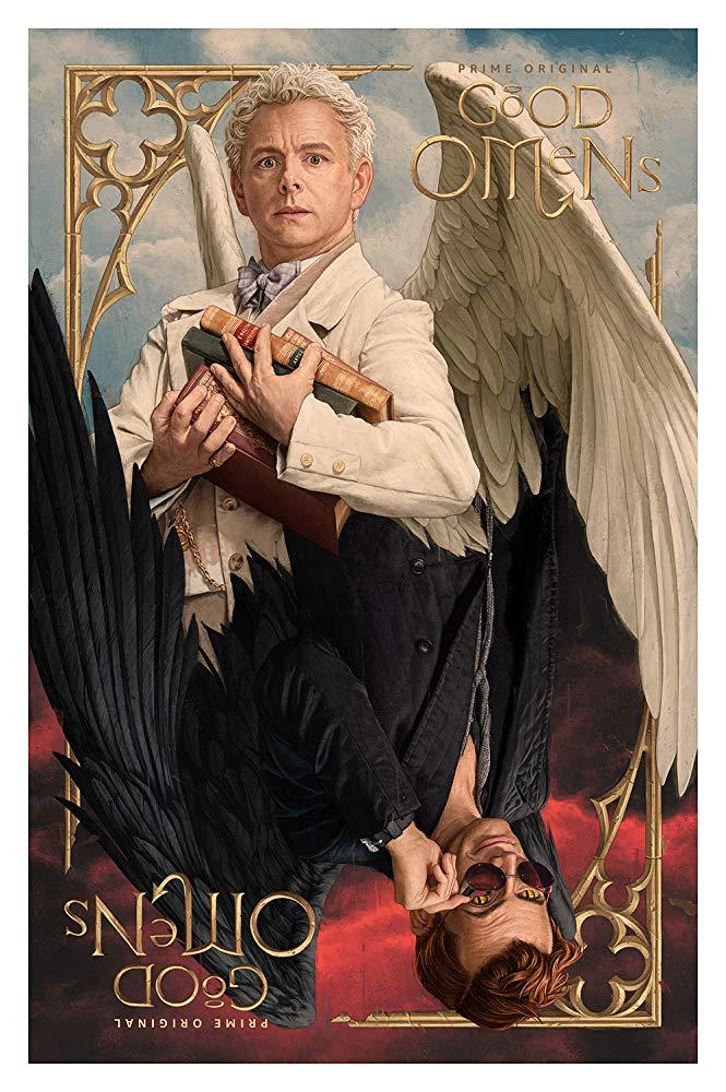 Good Omens: un poster per la serie con Michael Sheen e David Tennant