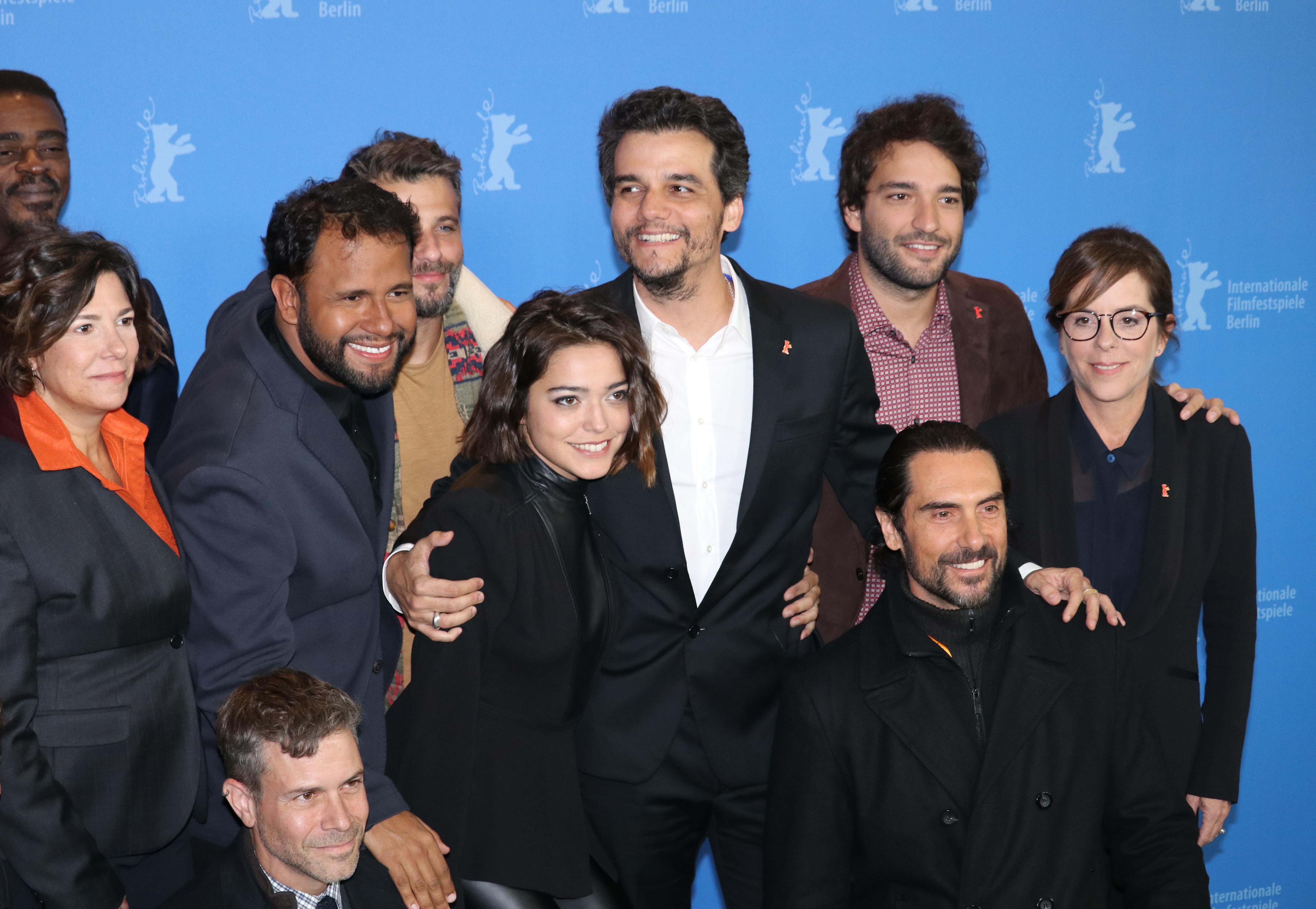 Berlino 2019: il cast al photocall di Marighella