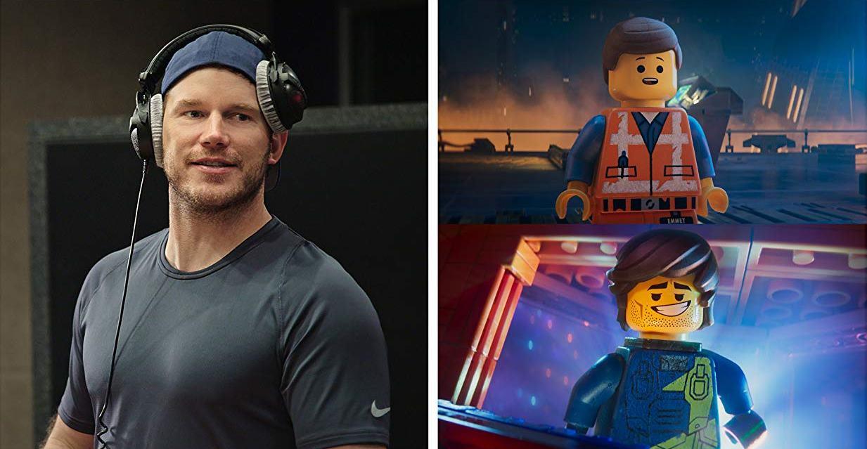 The Lego Movie 2: Una nuova avventura: Cris Pratt con i personaggi che interpreta