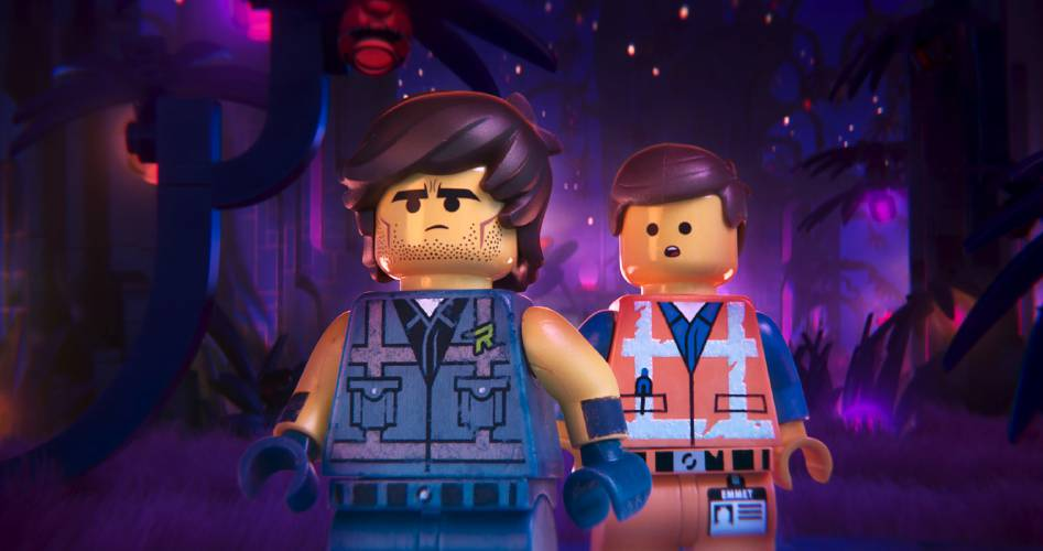 The Lego Movie 2: Una nuova avventura: Emmet e Rex in una scena