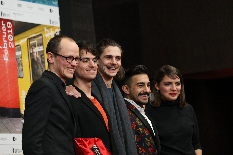 Berlino 2019: il cast alla conferenza di Oray