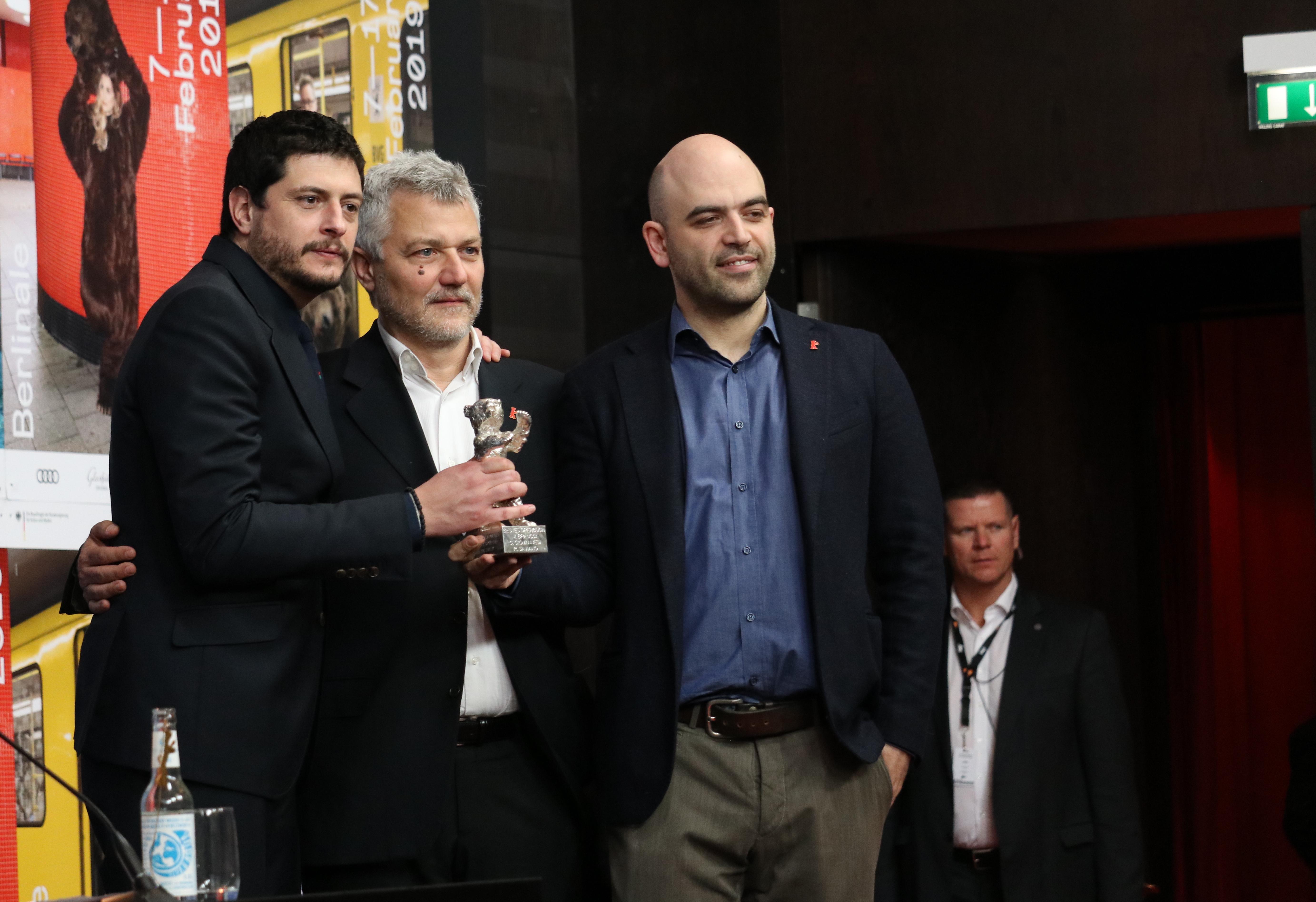 Berlino 2019: sceneggiatori e regista alla conferenza di premiazione