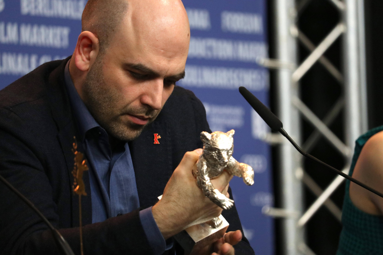 Berlino 2019: Roberto Saviano e l'orso d'argento alla conferenza di premiazione