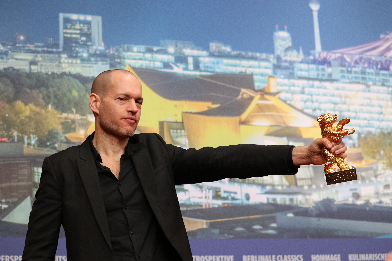 Berlino 2019: Nadav Lapid  con il premio alla conferenza dei premiati