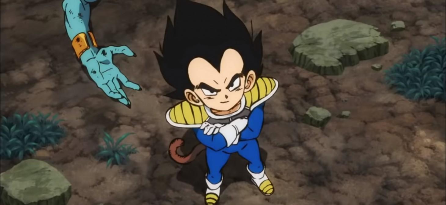 Dragon Ball Super: Broly - Il Film: una scena con Vegeta