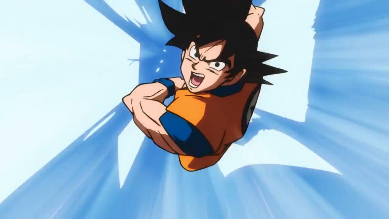 Dragon Ball Super: Broly - Il Film: Goku si lancia in un attacco