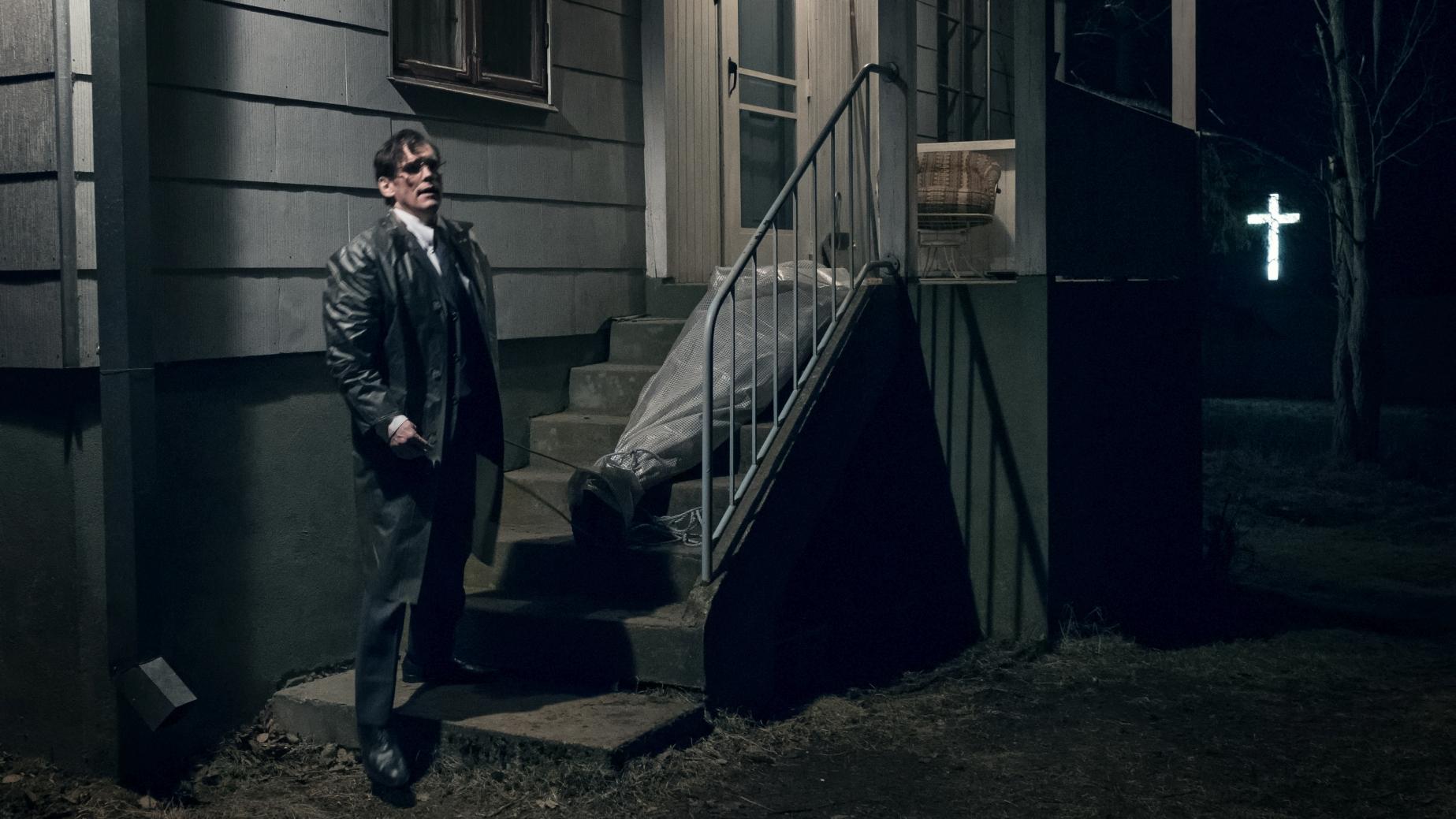 La casa di Jack: Matt Dillon in una sequenza del film