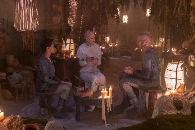 Stark Trek Discovery: Doug Jones, Sonequa Martin-Green nell'episodio The Sounds of Thunder