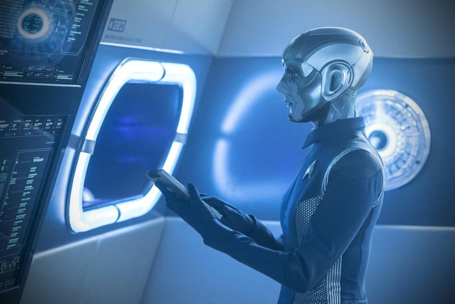 Stark Trek Discovery: Hannah Cheesman nell'episodio The Sounds of Thunder