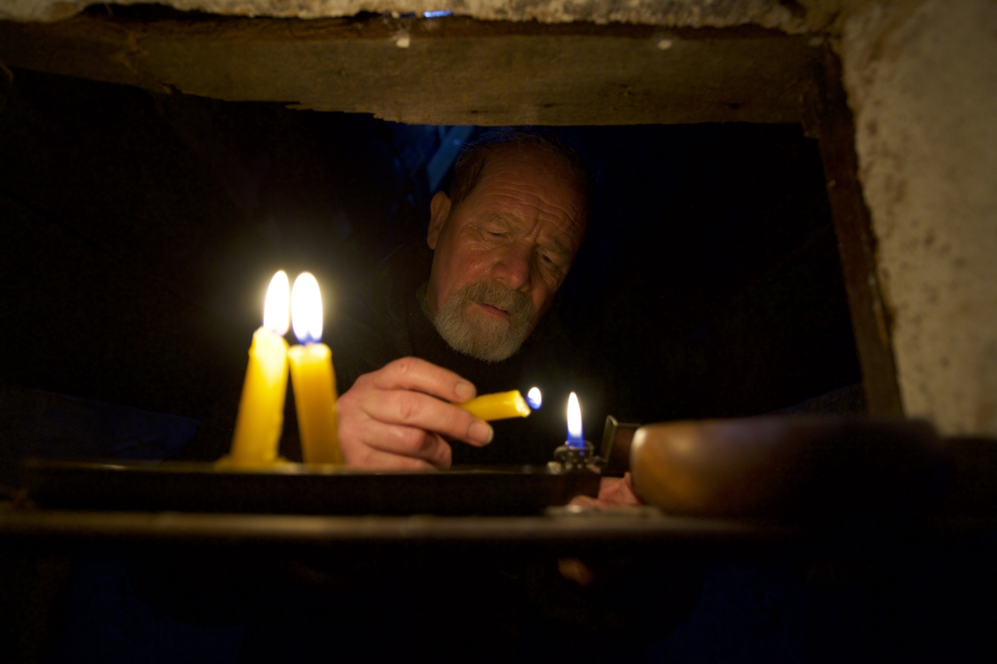 The Vanishing - Il mistero del faro: Peter Mullan in una scena