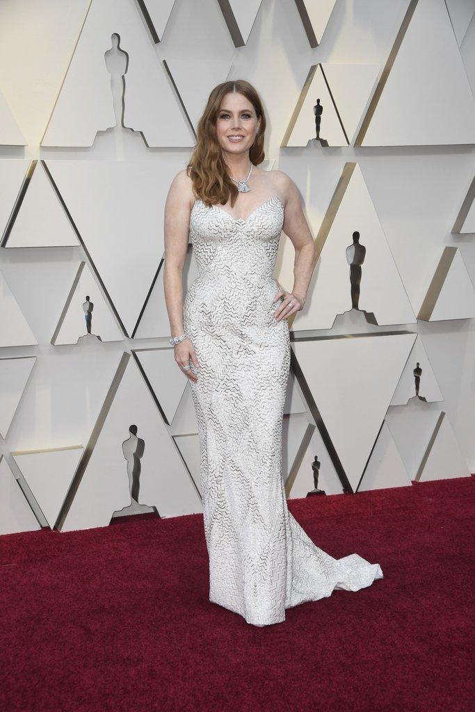 Oscar 2019: Amy Adams sul red carpet
