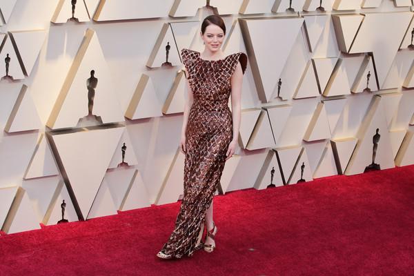Red Carpet Oscar 2019: Emma Stone