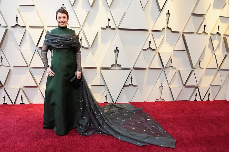 Red Carpet Oscar 2019: Olivia Colman