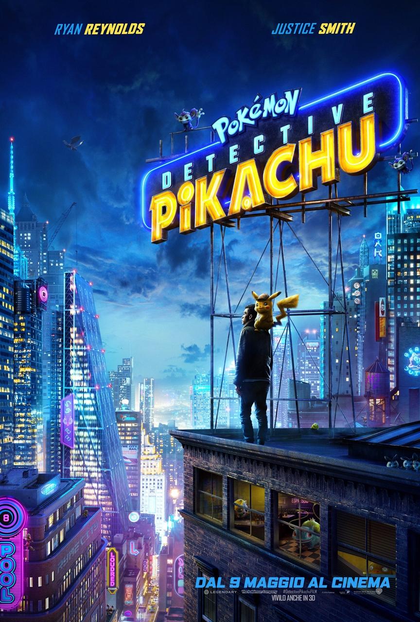 Pokémon Detective Pikachu: il poster del film