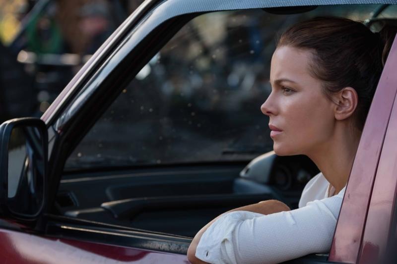 The Widow: Kate Beckinsale in una scena della serie