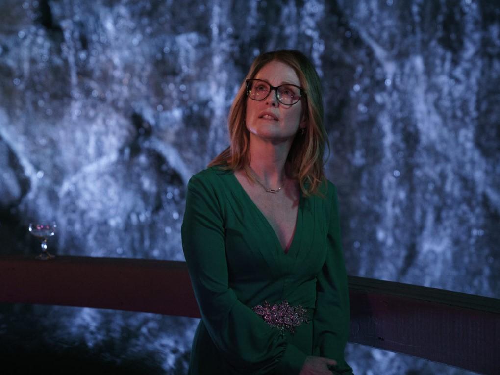 Gloria Bell: Julianne Moore durante una scena del film