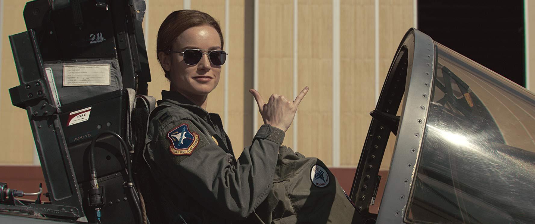 Captain Marvel: Brie Larson è il pilota dell'Air Force Carol Denvers