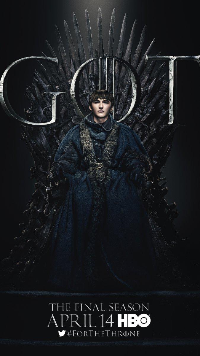 Il trono di spade: Isaac Hempstead Wright  character poster per l'ottava e ultima stagione